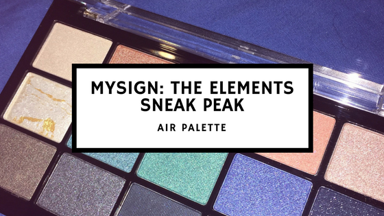 Mysign- the elementssneak peak jennifer juan