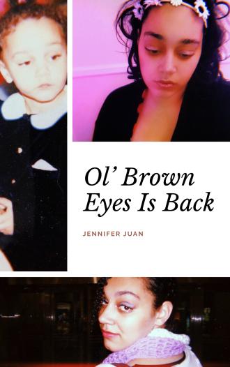 Ol' Brown Eyes Is Back - Jennifer Juan - Book Cover